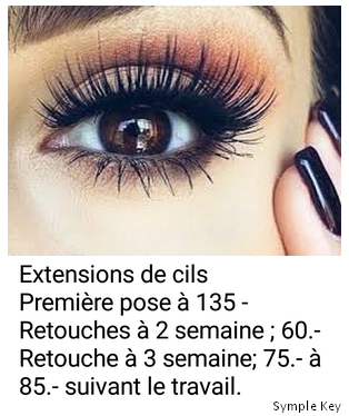 Extention des cils