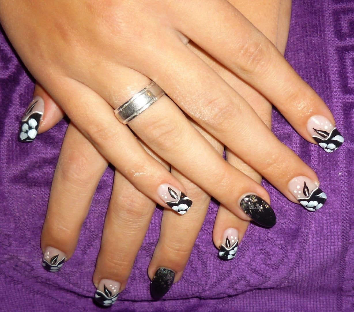 Ongles mixtes